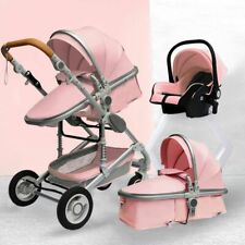 Baby Stroller 3in1 With Car Seat Portable Travel Baby Carriage Folding Prams