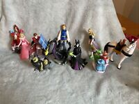 The Disney Store - Sleeping Beauty Figure Bundle - Aurora, 3 Fairy Godmothers...