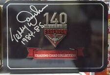 ESSENDON HALL OF FAME MT TIN HAND SIGNED TERRY DANIHER 84 85 PREMIERSHIP CAPTAIN