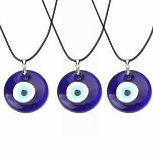 Lucky Evil Eye Beads Necklace Turkish Blue Eye Pendant Clavicle Women Jewelry