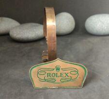 Anni 1950 ROLEX in ottone esposizione negozio Segno Stand No.0234 RARA
