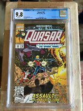 Quasar #32 CGC 9.8 WP 1st app Korath The Pursuer - Guardians Of The Galaxy