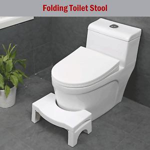 Potty Squatty Toilet Squat Stool Non-Slip Bathroom Step Stool Folding Squat Aid