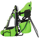 ClevrPlus Baby Toddler Backpack Camping Hiking Child Kid Carrier w Shade Visor