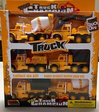 Truck Champion Construction Vehicle Set Of 6