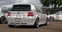 VW Golf 4 IV MK4 Rear Bumper diffuser spoiler lip Valance addon Hatchback gt