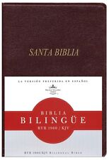 Bilingual Spanish English Bible Biblia Bilingue Rvr 1960/KJV Imitation Leather