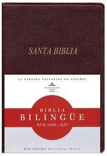 Bilingual Spanish English Bible Biblia Bilingue Rvr 1960/KJV Imitation Leather