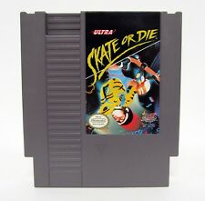 SKATE OR DIE Nintendo NES Game Quality Seal Variant CLEANED & TESTED 1988