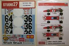 DECAL: 1/12 S27607 1970 FERRARI 312B2 PART 1