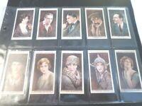 1931 Wills CINEMA STARS movie ser. 3 Tobacco Cigarette 25 cards complete set