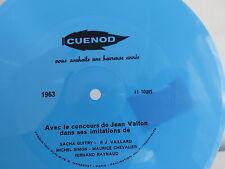 Disque souple CUENOD JEAN VALTON 1963