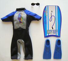 Barbie/Ken Clothes/Fashions Wet Suit With Accessories! NEW!
