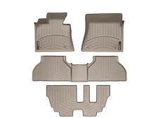 WeatherTech DigitalFit FloorLiner Mats for BMW X5 - 2007-2013 - Tan