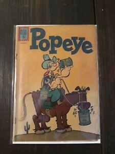 Dell Comics: Popeye #62 - Silver Age 1961