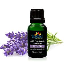 Lavender Bulgarian Organic Essential Oil 15ml (1/2 oz) -100% Pure & Undiluted