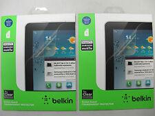 2x BELKIN TrueClear Transparent Screen Protector for Samsung GalaxyTab2 10.1 F01