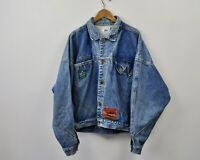 LEE Union Made vtg Men's XL 70's Stonewashed Cotton Denim Jacket Trucker Chore L