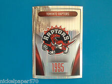 2014-15 Panini NBA Sticker Collection N. 63 TORONTO RAPTORS LOGO