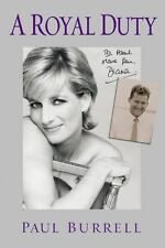 A Royal Duty By Paul Burrell   Good Condition Book