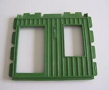 PLAYMOBIL (B3225) WESTERN - Mur Vert Ouverture Fenêtre Porte Bureau Sheriff 3786