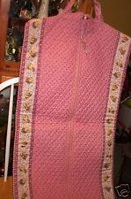 Vera Bradley Retired Rare Pink Disney Pooh Garment Bag