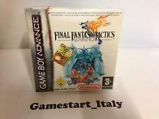 FINAL FANTASY TACTICS ADVANCE (NINTENDO GAME BOY ADVANCE GBA) NUOVO NEW PAL