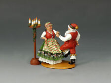 XM009-02 Mr. & Mrs. Claus Having Fun! RETIRED by King and Country