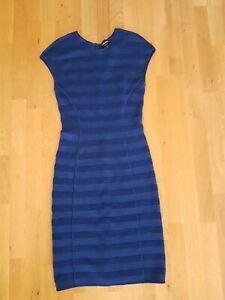 GIORGIO ARMANI Kleid blau  Stretch IT 42 DE 36 38 original