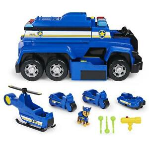 Paw Patrol - Chase Ultimate Police Cruiser 5 in 1 Vehicle with Lights & Sounds
