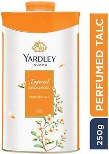 Yardley 250grams London Sandalwood Perfumed Talcum Powder USA SELLER FAST SHIP