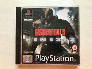 Resident Evil 3 Nemesis PS1 Game UK PAL USED
