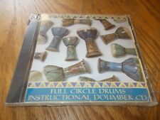 FULL CIRCLE DRUMS - INSTRUCTIONAL DOUMBEK CD BRAND NEW SEALED