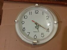 Wall Clock Kitchen School Office Home Shabby Chic Decor Quartz a95b
