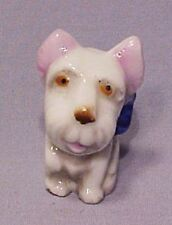 Old Mini Porcelain West Highland White Terrier - Cute!