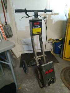 Pearl Abrasive Easy Hammer Trolley Cart
