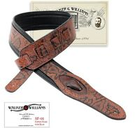 Walker & Williams SF-01 Copper Brown Snake Pattern Strap with Snakehead