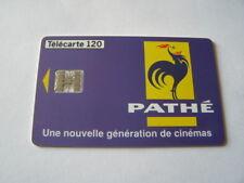 telecarte pathé cinéma 120u ref phonecote F676