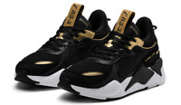 New Puma RS-X Trophy Sort Team Gold Shoes Sneakers Authentic 369451-01