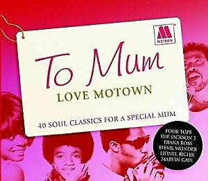 DISCS ONLY ... TO MUM LOVE MOTOWN 40 CLASSICS 2CDS