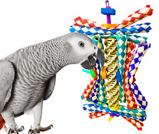 1242 HELIX BONKA BIRD TOYS parrot cage toys cages cockatiel conure african grey