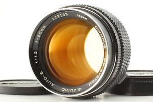 [NEAR MINT+++ CLA'd] Olympus OM-System G.Zuiko Auto-S 55mm f/1.2 Lens From JAPAN