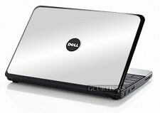 WHITE Vinyl Lid Skin Cover Decal fits Dell Inspiron Mini 10 Netbook