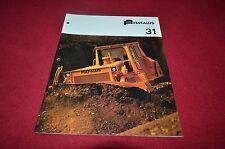 Fiat Allis Chalmers 31 Crawler Tractor Dozer Dealers Brochure YABE11 vr1