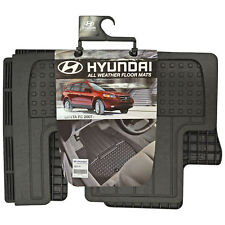 New Fits 2006-2009 Hyundai Santa Fe Floor Mats All Weather Rubber 3RD Row Black