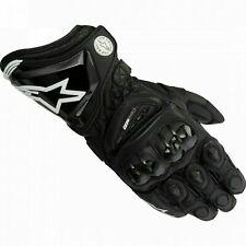Alpinestars Gp Pro Black Motorcycle Motorbike Racing Gloves- Stock Sale Gift