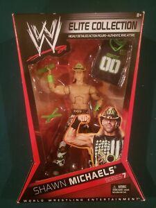 Mattel WWE Elite Collection Series 7 HBK Shawn Michaels New Sealed 2010 DX rare