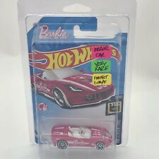 Hot Wheels Barbie 14 Corvette Stingray Very Rare Extra Tampo Screen Time FJW39