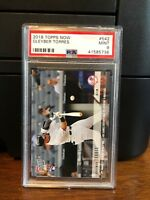 2018 Topps Now Gleyber Torres Yankees Rookie Card #542 PSA 9 Mint