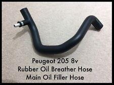 Peugeot 205 8v Rubber Oil Breather Hose